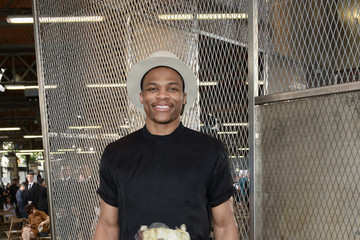 Russell Westbrook Celebrities Arrive at Givenchy During Paris Fashion Week
