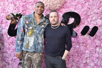Russell Westbrook Dior Homme: Photocall - Paris Fashion Week - Menswear Spring/Summer 2019
