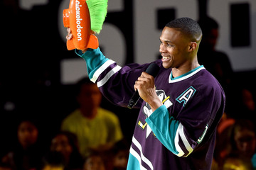Russell Westbrook Nickelodeon Kids' Choice Sports Awards 2017 - Show