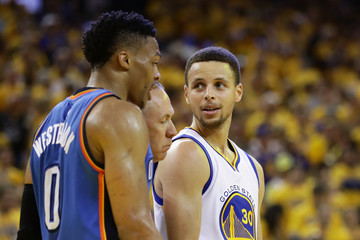 Russell Westbrook Oklahoma City Thunder v Golden State Warriors - Game Seven