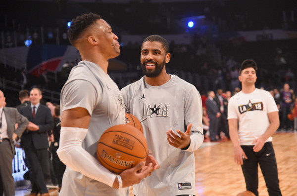 2f0eb6fd2947 Russell Westbrook and Kyrie Irving Photos»Photostream · Pictures · NBA  All-Star Game 2018