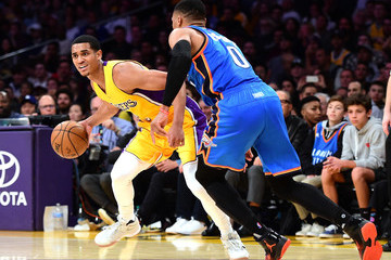 Russell Westbrook Oklahoma City Thunder v Los Angeles Lakers