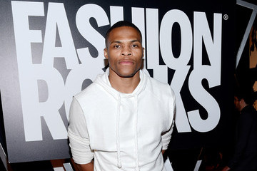 Russell Westbrook Three Lions Entertainment Presents Fashion Rocks 2014 - Arrivals