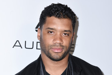Russell Wilson Warner Music Group GRAMMY Party - Red Carpet