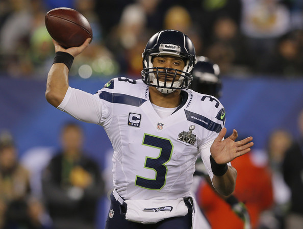 Russell Wilson Pictures Super Bowl