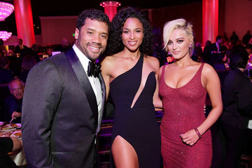 Russell Wilson Pre-GRAMMY Gala And GRAMMY Salute To Industry Icons Honoring Clarence Avant – Inside