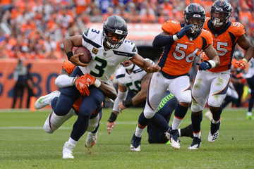 Russell Wilson Seattle Seahawks vs. Denver Broncos