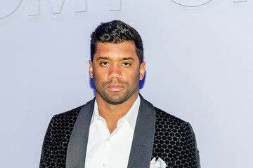 Russell Wilson Tom Ford Men's - Arrivals - February 2018 - New York Fashion Week