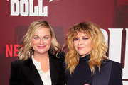 """Amy Poehler and Natasha Lyonne attend the """"Russian Doll"""" Premiere at The Metrograph on January 23, 2019 in New York City."""