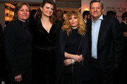 """VP Original Series, Cindy Holland, Netflix, Leslye Headland, Natasha Lyonne and Chief Content Officer Ted Sarandos, of Netflix, attend """"Russian Doll"""" Premiere at The Metrograph on January 23, 2019 in New York City."""