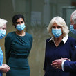 Ruth May Prince Of Wales And Duchess Of Cornwall Undertake Engagements In London To Thank Those Involved In The COVID-19 Vaccine Rollout