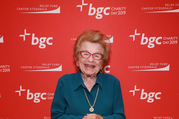 Ruth Westheimer Annual Charity Day Hosted By Cantor Fitzgerald, BGC, And GFI - BGC Office - Arrivals