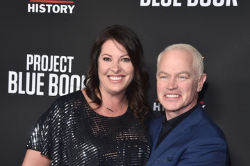 Ruve McDonough Premiere For History Channel's 'Project Blue Book' - Red Carpet