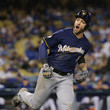 Ryan Braun League Championship Series - Milwaukee Brewers vs. Los Angeles Dodgers - Game Four