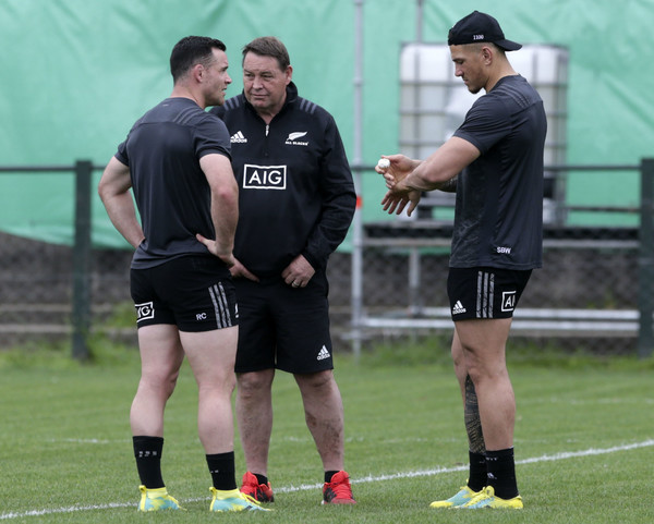 All Blacks Media Day In Buenos aires