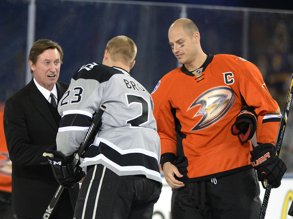 Ryan Getzlaf And Wayne Gretzky Photos Photos Zimbio