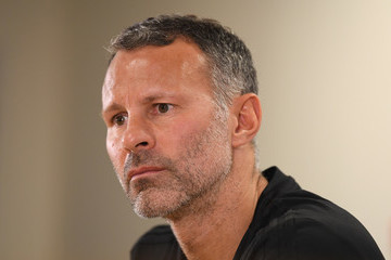 Ryan Giggs Wales Training Session And Press Conference