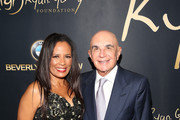 "Anita Thompson and Robert Shapiro attend the Ryan Gordy Foundation ""60 Years of Motown"" Celebration at the Waldorf Astoria Beverly Hills on November 11, 2019 in Beverly Hills, California."