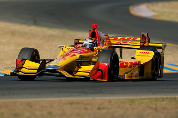 Ryan Hunter-Reay GoPro Grand Prix of Sonoma - Day 1
