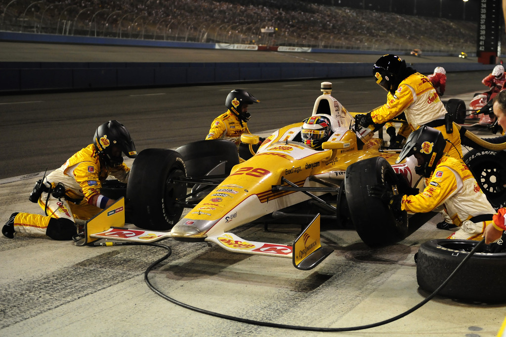 Ryan Hunter-Reay - Auto Club Speedway - Day 2
