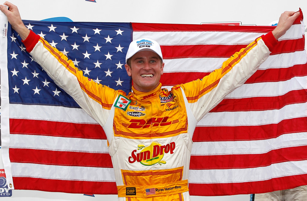 Ryan Hunter-Reay - Grand Prix of Baltimore - Day 3