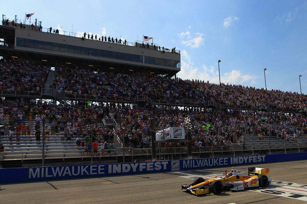 Ryan Hunter-Reay - Milwaukee IndyFest 225 - Day 2