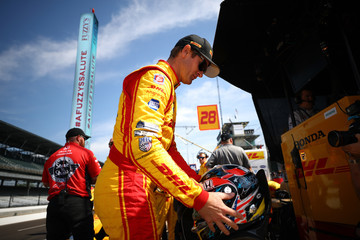 Ryan Hunter-Reay 101st Indianapolis 500 - Carb Day