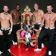 Ryan Kelsey Leah Remini Attends Chippendales Starring Former Dance Partner Tony Dovolani At The Rio Hotel & Casino