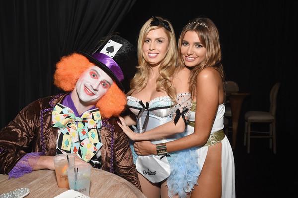 Celebs Attend the Casamigos Tequila Halloween Party [casamigos tequila halloween party,casamigos halloween party,fun,yellow,event,party,photography,costume,nightclub,performance,leisure,bachelorette party,residence,beverly hills,california,guests,ryan lochte]