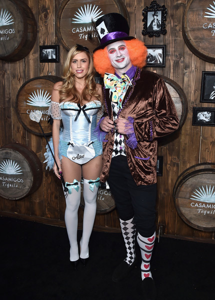 Celebs Attend the Casamigos Tequila Halloween Party [ryan lochte,guest,fashion,costume,fashion accessory,fashion design,residence,california,beverly hills,casamigos tequila halloween party,casamigos halloween party]
