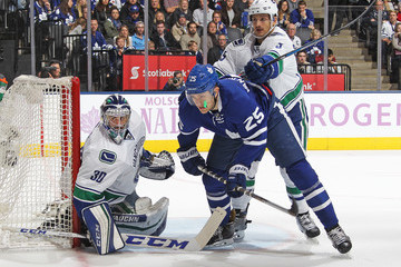 Ryan Miller Vancouver Canucks v Toronto Maple Leafs