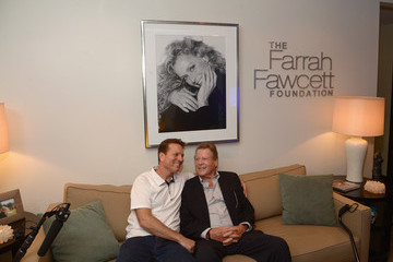 Ryan O'Neal Farrah Fawcett 5th Anniversary Reception