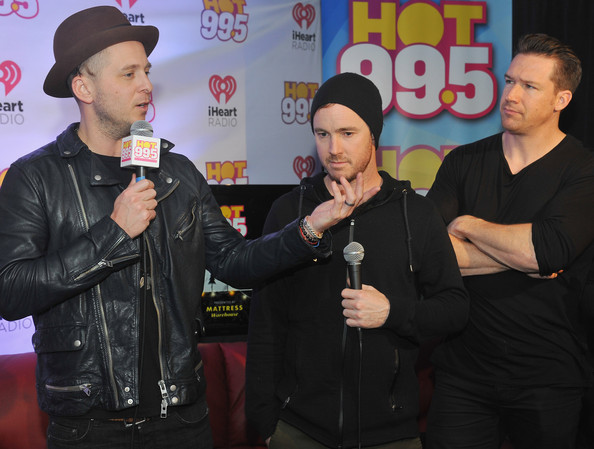Backstage at HOT 99.5's Jingle Ball