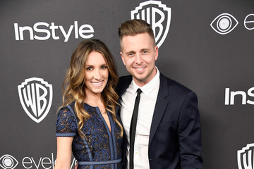 Ryan Tedder Genevieve Tedder Warner Bros. Pictures and InStyle Host 18th Annual Post-Golden Globes Party - Arrivals