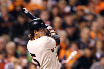 Ryan Theriot NLCS - St Louis Cardinals v San Francisco Giants - Game Six