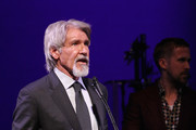 Harrison Ford accepts the Artists Inspiration Award onstage at the SAG-AFTRA Foundation's 3rd Annual Patron of the Artists Awards at the Wallis Annenberg Center for the Performing Arts on November 8, 2018 in Beverly Hills, California.