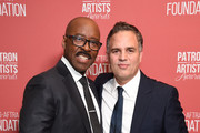 (L-R) SAG-AFTRA Foundation president Courtney B. Vance and  'Artists Inspiration Award' winner Mark Ruffalo attend SAG-AFTRA Foundation's 4th Annual Patron of the Artists Awards at Wallis Annenberg Center for the Performing Arts on November 07, 2019 in Beverly Hills, California.