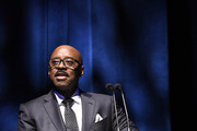 SAG-AFTRA Foundation president Courtney B. Vance speaks onstage during SAG-AFTRA Foundation's 4th Annual Patron of the Artists Awards at Wallis Annenberg Center for the Performing Arts on November 07, 2019 in Beverly Hills, California.