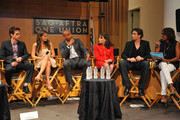 (L-R) Actors Greg Rikaart, Melissa Claire Egan, Redaric Williams, Kate Linder, Daniel Goddard and moderator Pat Harvey participate in the 40 years of 'The Young and The Restless' celebration and panel discussion presented by SAG-AFTRA at SAG-AFTRA on June 4, 2013 in Los Angeles, California.