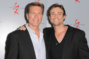 Actors Peter Bergman and Daniel Goddard attend the 40 years of 'The Young and The Restless' celebration presented by SAG-AFTRA at SAG-AFTRA on June 4, 2013 in Los Angeles, California.