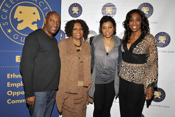 """John Singleton Taraji P. Henson SAG's National Ethnic Employment Opportunities Committee Presents """"The Black Hollywood Experience: Our History... Our Future"""" Panel"""
