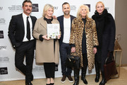 "(L-R) Douglas Friedman, Martha Stewart, Nick Voulgaris, Cynthia Frank and Amy Sacco attend the SAKS FIFTH AVENUE and Martha Stewart Celebration of the release of ""The Seaside House: Living On The Water"" at Saks Fifth Avenue on March 15, 2017 in New York City."