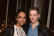 Actress Lyndie Greenwood and actor Zach Appelman attend SCAD Presents aTVfest 2016 on February 6, 2016 in Atlanta, Georgia.