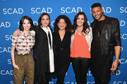 (L-R) Genevieve Buechner, Sarah Gertrude Shapiro, Debra Birnbaum, Stacy Rukeyser, and Jeffrey Bowyer-Chapman attend a screening and Q&A for 'UnREAL' on Day 3 of the SCAD aTVfest 2018 on February 3, 2018 in Atlanta, Georgia.
