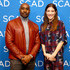 """Jennifer Carpenter Photos - Morris Chestnut and Jennifer Carpenter attend """"The Enemy Within"""" Q&A during SCAD aTVfest 2019 on February 09, 2019 in Atlanta, Georgia. - SCAD aTVfest 2019 – 'The Enemy Within'"""