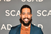 """Actor Neil Brown Jr. attends the """"SEAL Team"""" press junket during SCAD aTVfest 2019 at Four Seasons Hotel on February 09, 2019 in Atlanta, Georgia."""