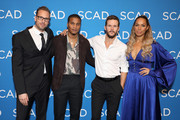 "(L-R) Noah Nelson, Cory Hardrict, Ryan Kwanten and Leona Lewis attend ""The Oath"" screening during SCAD aTVfest 2019 at SCADshow on February 7, 2019 in Atlanta, Georgia."