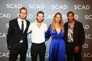 "Noah Nelson, Ryan Kwanten, Leona Lewis, and Cory Hardrict attend the ""The Oath""press junket during SCAD aTVfest 2019 at SCADshow on February 7, 2019 in Atlanta, Georgia."