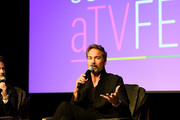 Eric McCormack speaks onstage SCAD aTVfest 2020 - In Conversation With Eric McCormack And Impact Award Presentation Press Junket on February 28, 2020 in Atlanta, Georgia.