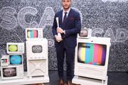"Justin Hartley attends SCAD aTVfest 2020 - ""This Is Us""  Spotlight Award Presentation on February 29, 2020 in Atlanta, Georgia."
